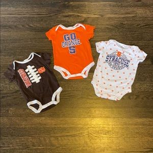 Syracuse onesie bundle